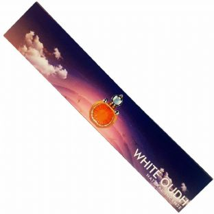 New Moon Aromas | White Oudh Incense Sticks 15g (1 Box) Free UK Delivery